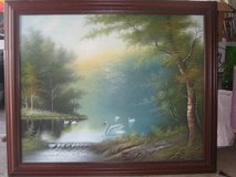 SWAN OIL PAINTING in Bolingbrook, Illinois
