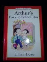 Arthur's Back to School Day book in Camp Lejeune, North Carolina
