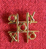 Tic Tac Brooch /pin in Bolingbrook, Illinois